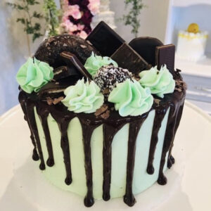 Feature Cake – Mint Chocolate