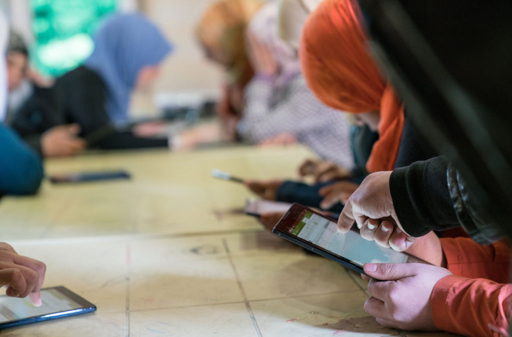 FROM WHITE HAT MAGAZINE: Interventions that Work: Addressing the Technology Needs of Women Refugees