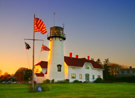 Chatham Lighthouse is a lighthouse in Chatham, Massachusetts, near the