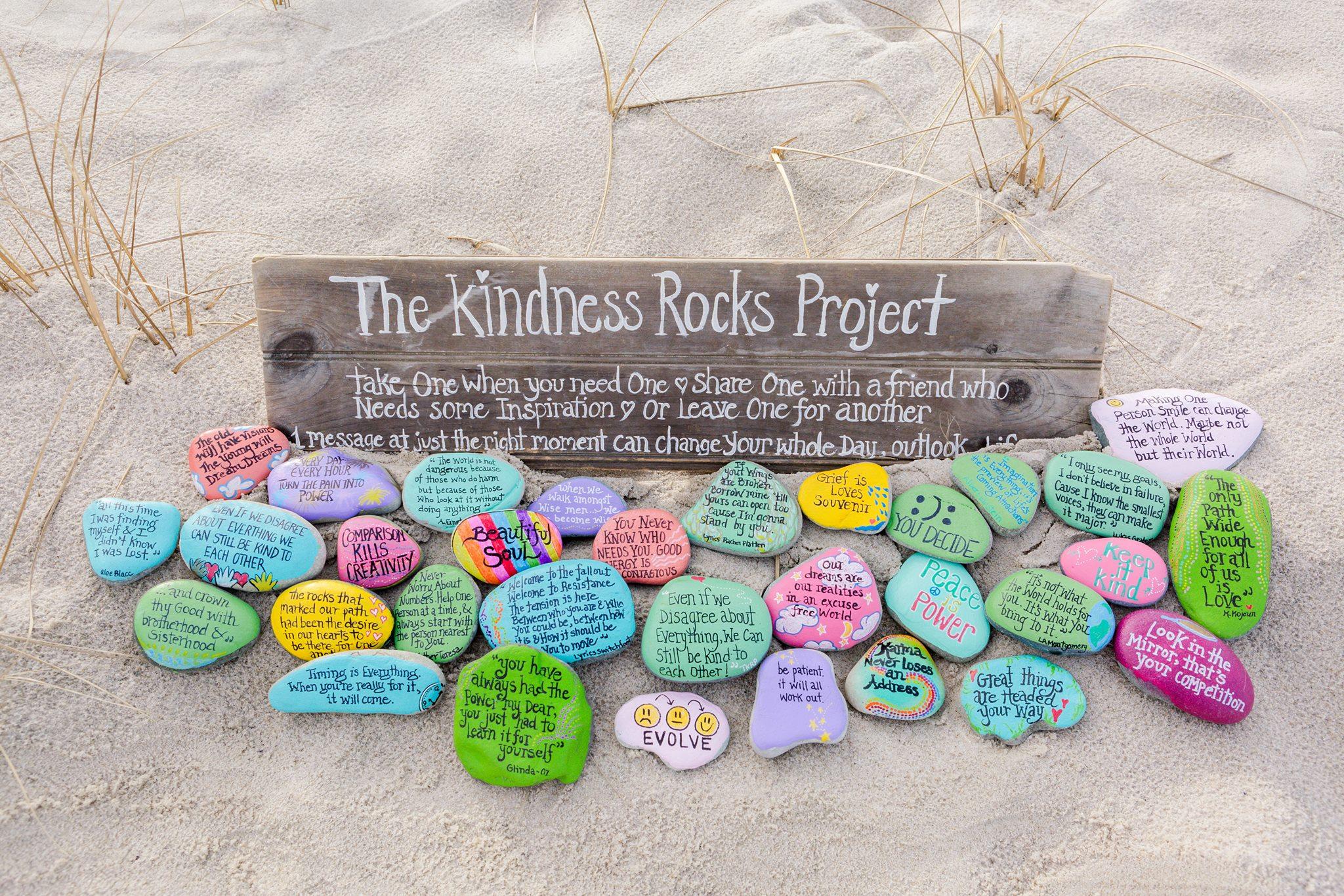 The Kindness Rocks Project