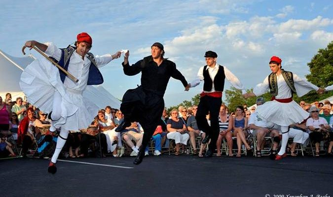 Saint George Grecian Festival on Cape Cod
