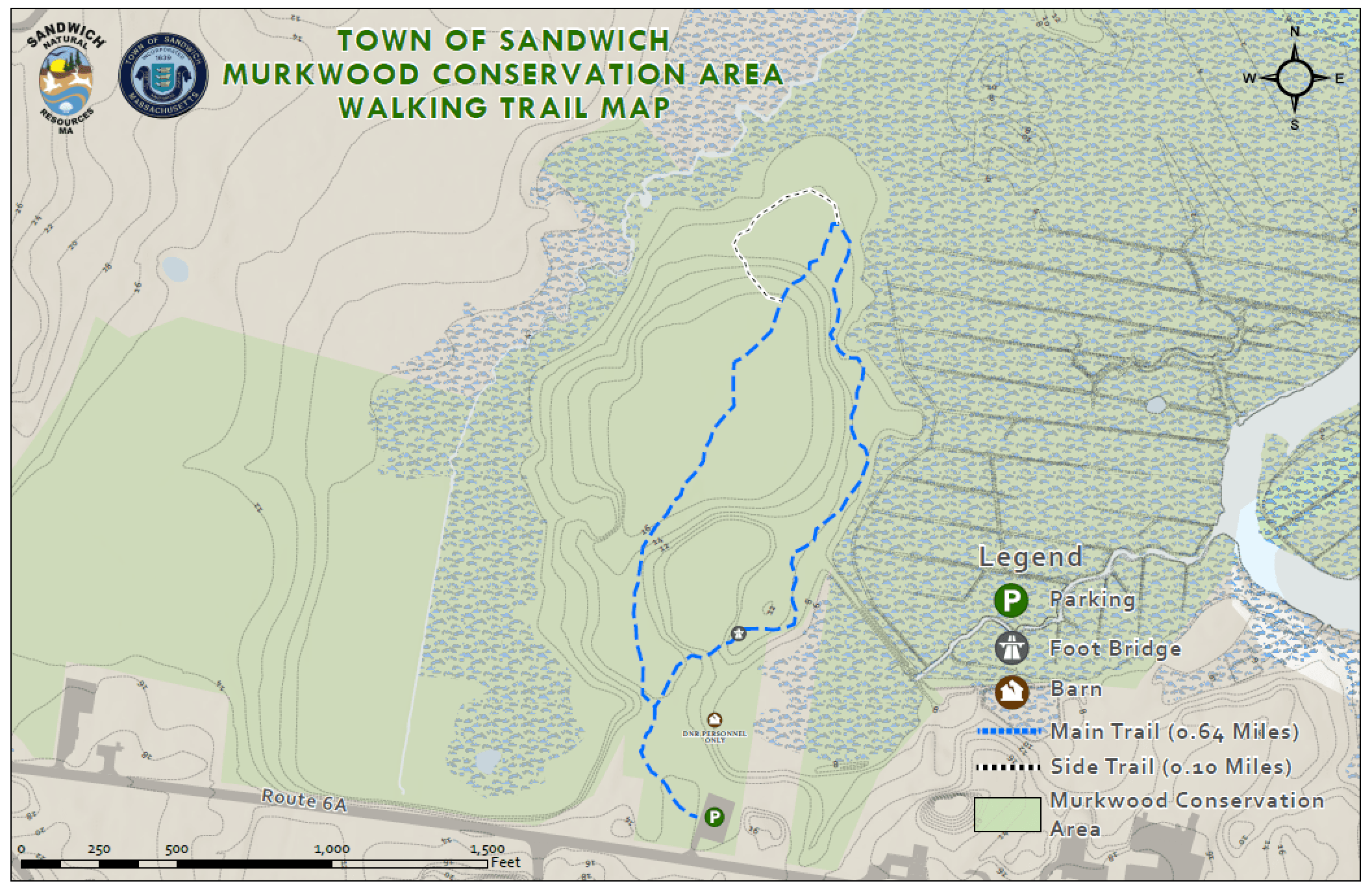 Murkwood Conservation Area Trail Map