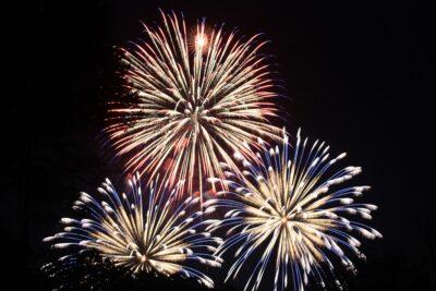 Sandwich Fourth of July Fireworks