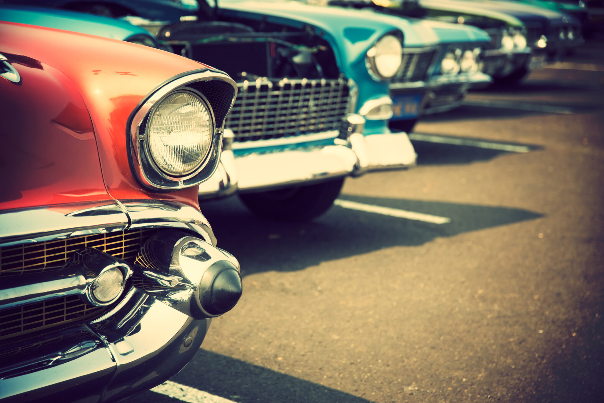 Classic cars at Hyannis Father's Day Car Show