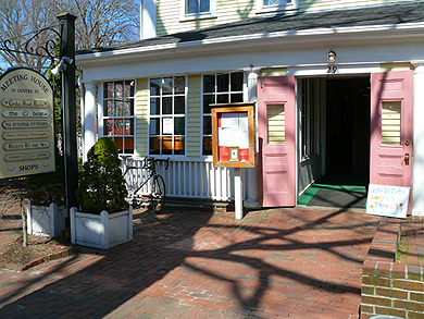Located in the Meeting House Building, Centre Street Bistro is an easy walk from anywhere in Nantucket Town.