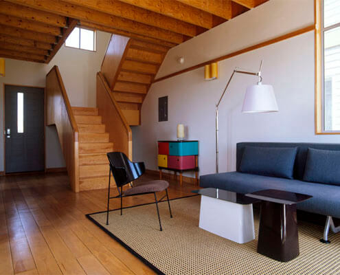 Block Island Vacation Home (interior) - Residential Construction Management