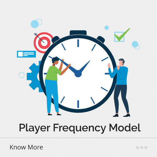 Player frequency model