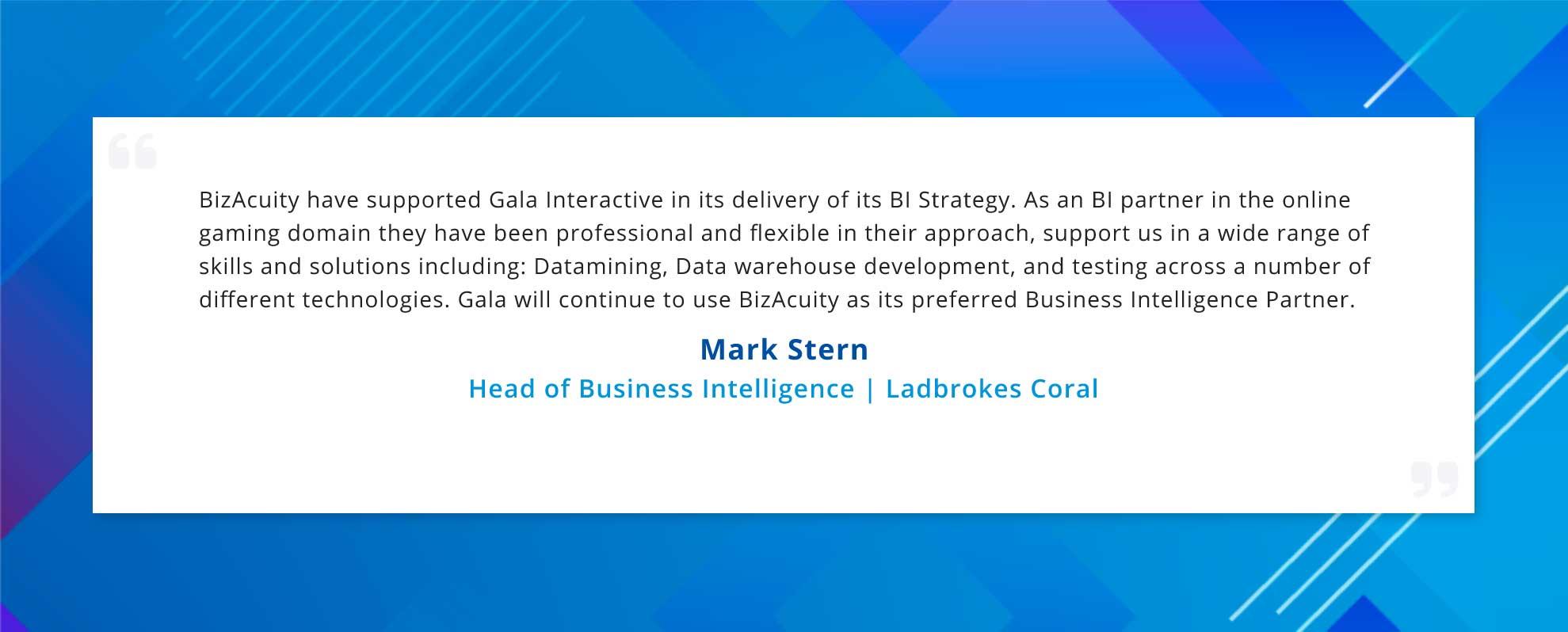 Client Testimonial - Ladbrokes Coral