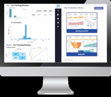 Gaming analytics accelerator - dashboard