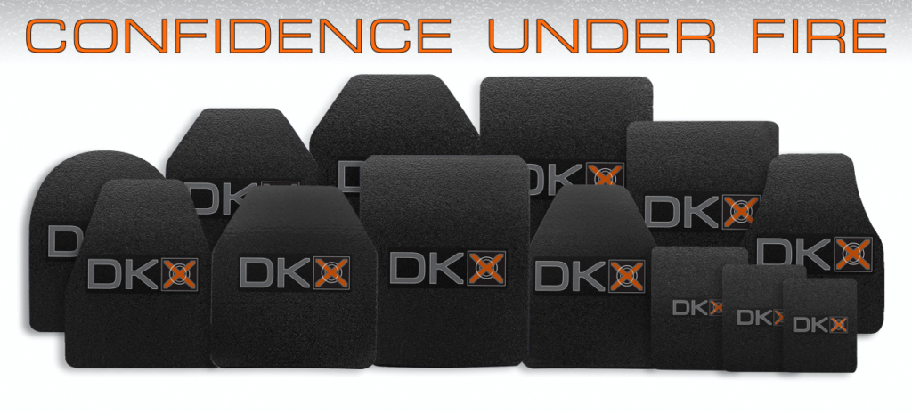 DKX armor plate array