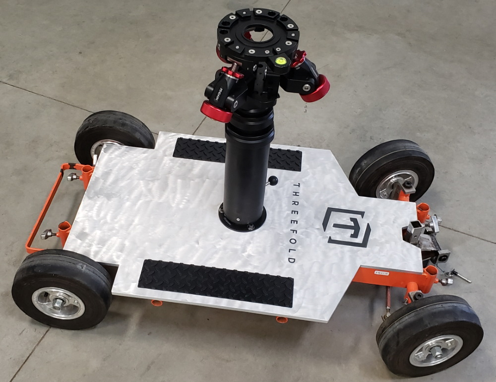Photo of customized camera trolly for Threefold