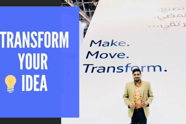 Make. Move. Transform. Your Idea.