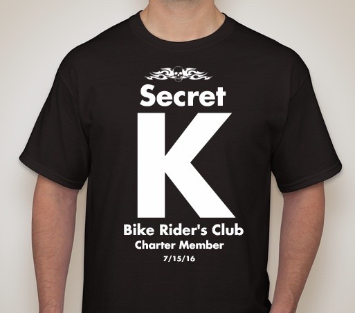 Secret K Bike Rider's T-Shirt