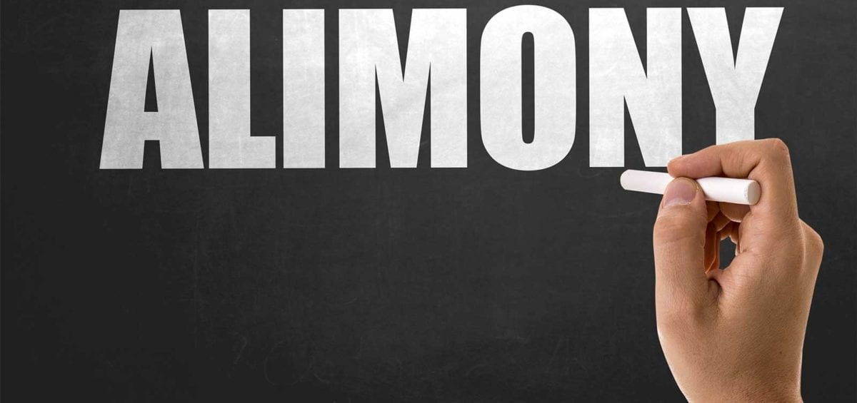 Alimony tax credit for 2018