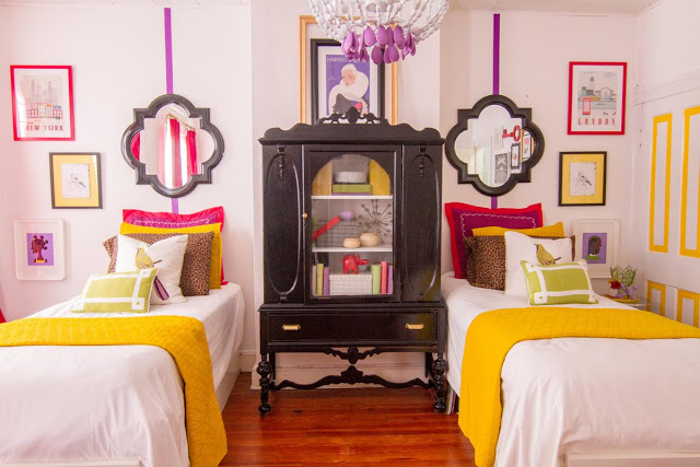 PROJECT REVEAL + NEW PRESS: A BOLD & BRIGHT GIRLS ROOM