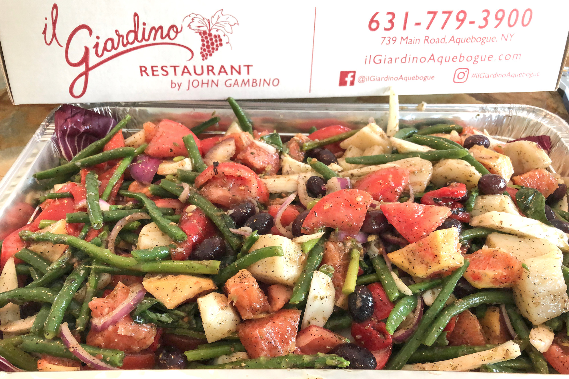 Host a party with iL Giardino Catering