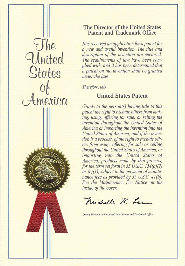 Phos-Fix patent