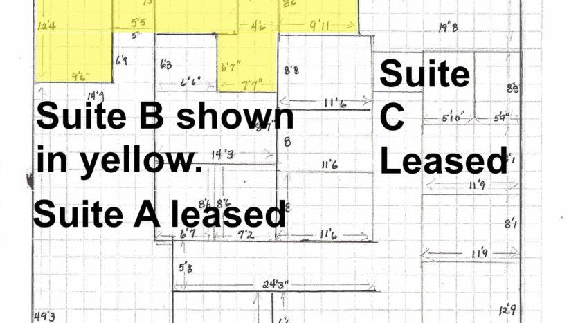 Floorplan Suite B