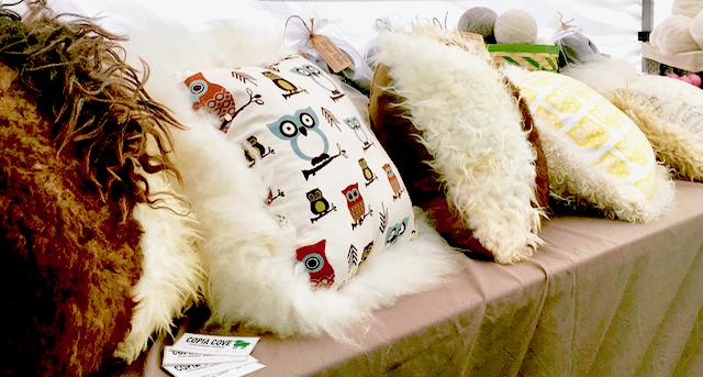 Make Your Own Sheepskin Pillow   Shepherd Like A Girl