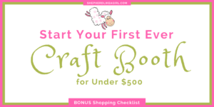 DIY Sheep Crafts | Start Your First Craft Booth for Under $500 | Shepherd Like A Girl