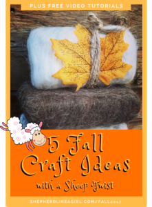 5-Day FALL Craft Challenge | 5 Easy Fall Craft Ideas with a Sheep Twist | DIY Sheep Crafts