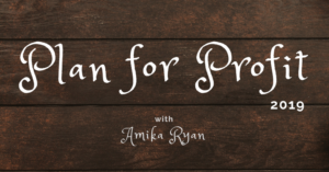 Plan for Profit with Amika Ryan | Shepherd like a girl