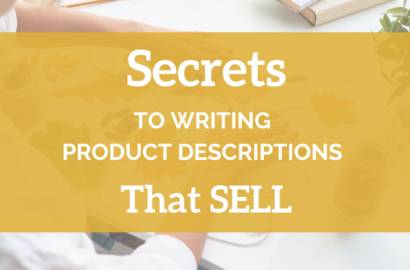 Secrets To Writing Product Descriptions That Sell - Amika Ryan Shepherd Like a Girl