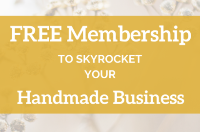 Free Membership Month to Skyrocket your Handmade Business - Amika Ryan Shepherd Like A Girl