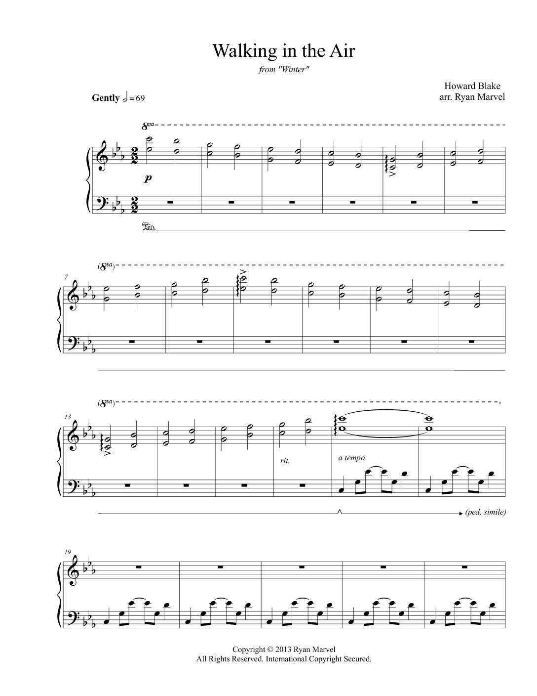Have Yourself A Merry Little Christmas Piano Sheet Music.Have Yourself A Merry Little Christmas Sheet Music