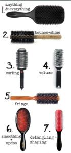hair-brushes