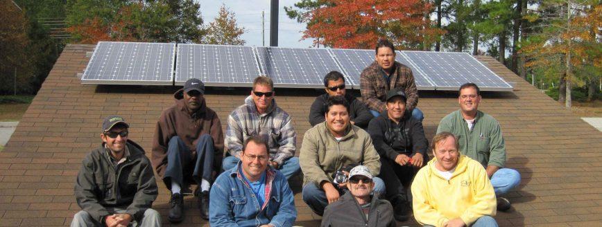 Cape Fear Solar Systems | Solar Installer Class Brunswick Community College