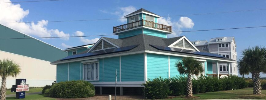 Commercial Solar Panels | Surf City, NC | Topsail Island Trading Co