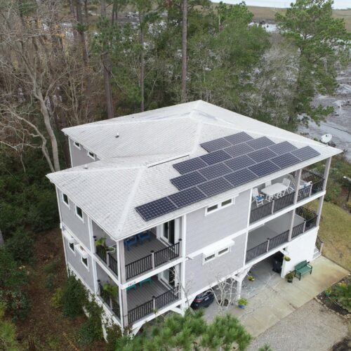 Residential Solar Installation | Oak Island, NC - Cape Fear Solar Systems