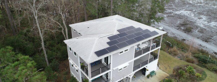 Residential Solar Installation | Oak Island, NC - Cape Fear Solar Systems