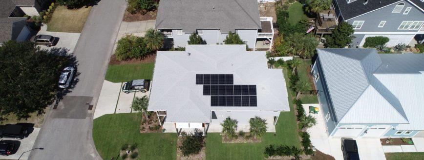 Residential Solar Installation Kure Beach, NC - Cape Fear Solar Systems Wilmington, NC