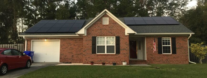 SunPower All Black Panel | Cape Fear Solar Black Friday Discount