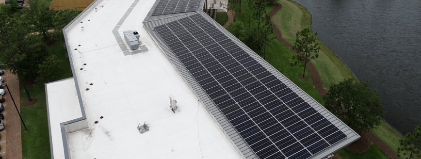 SunPower Commercial Panel Installation Wilmington, NC | Cape Fear Solar Systems