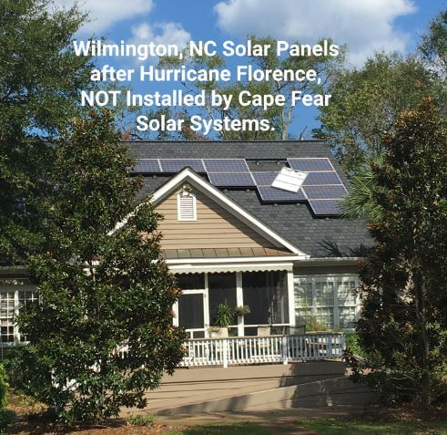 Bad Solar Installation | Why it is important to choose a local installer