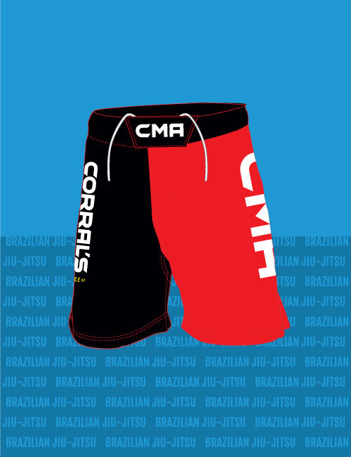 Corral's Martial Arts No-Gi Fight Shorts