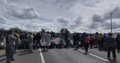 Cierran la carretera libre a Celaya, exigen seguridad