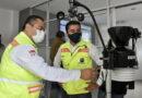 Supervisa Roberto Sosa funcionamiento de estaciones meteorológicas