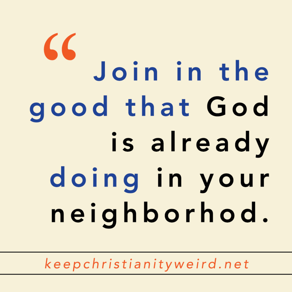 Keep Christianity Weird