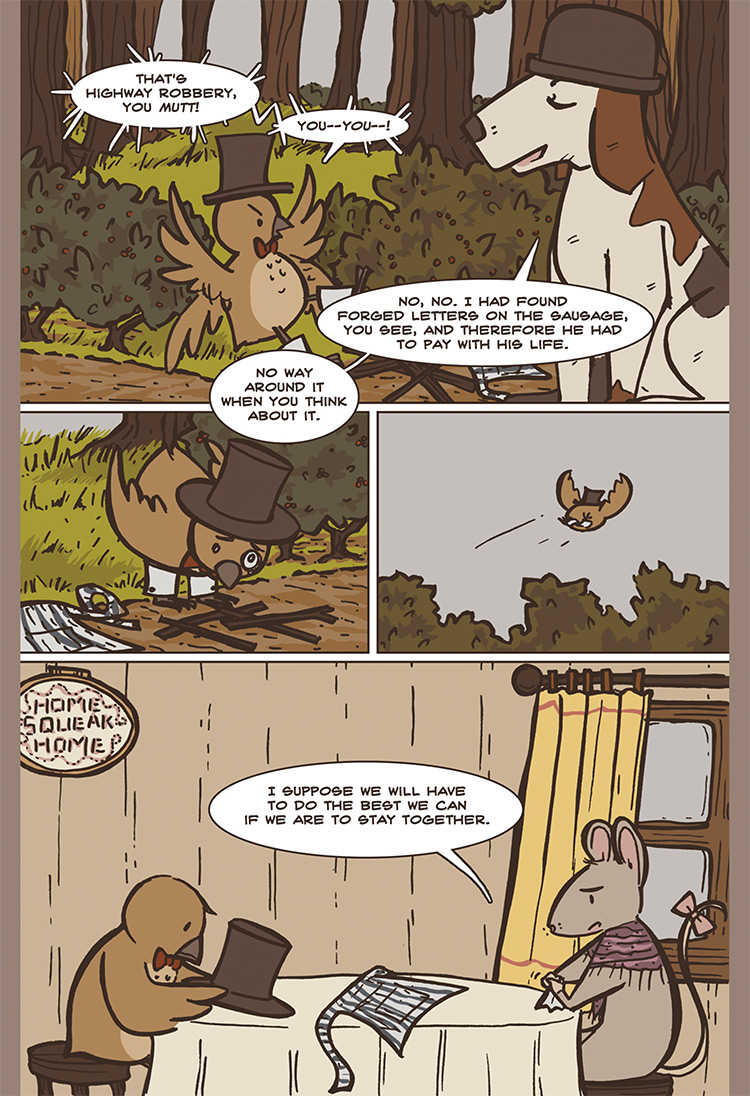 The Bird, the Mouse, & the Sausage pg09