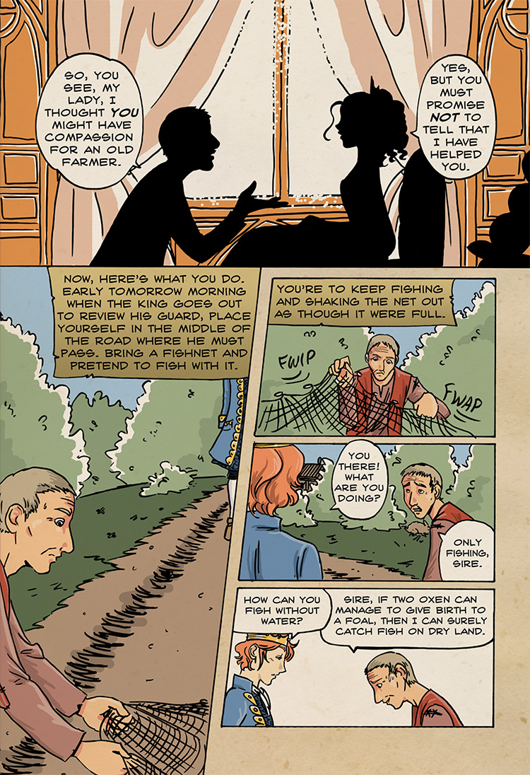The Farmer's Clever Daughter pg26