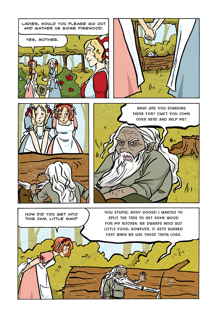 Snow White and Rose Red pg19