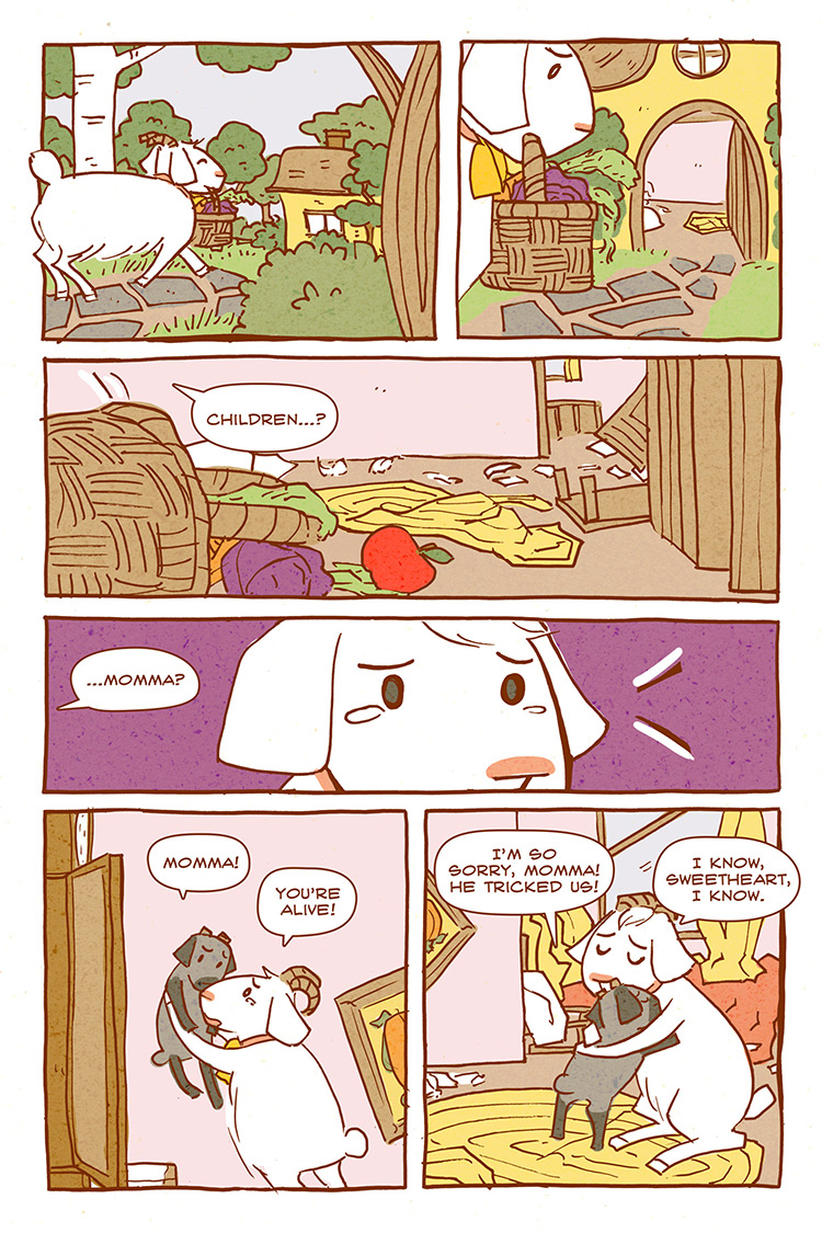 The Wolf and the Seven Kids pg08
