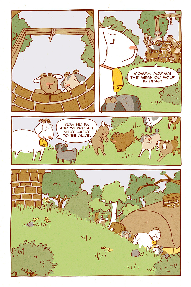 The Wolf and the Seven Kids pg12