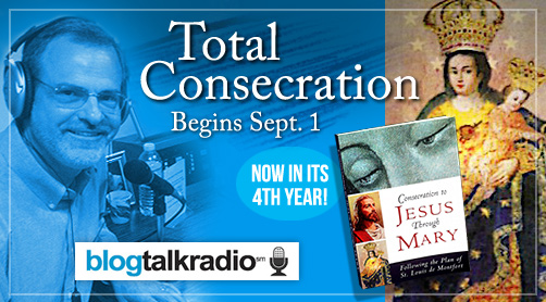Catholic speaker and author Gary Zimak will once again be leading Total Consecration To Jesus Through Mary on his nightly radio show