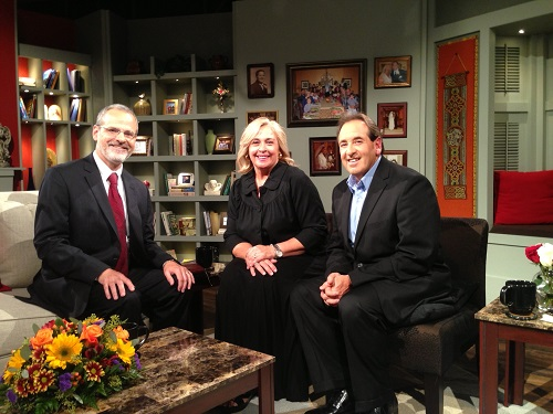 Catholic speaker and author Gary Zimak visits with Jim and Joy Pinto on At Home With Jim and Joy on EWTN