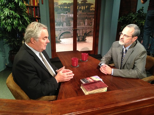 Catholic Speaker Gary Zimak discusses his conversion with Marcus Grodi on The Journey Home on EWTN TV